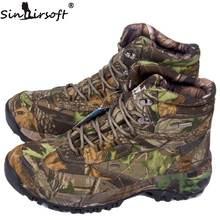 SINAIRSOFT ТА2-006 2016 пары Стиль высокое качество Водонепроницаемый Охота сапоги на открытом воздухе обувь походные ботинки