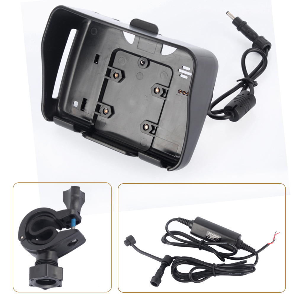 1 satz 4,3 zoll moto gps zubehör, 1 cradle halter + 1 power kabel + 1 halterung geeignet für fodsports motorradnavigations