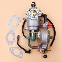 Podwójnego paliwa instrukcja Choke uszczelka gaźnika zestaw do hondy GX390 GX 390 chiński 190F 188F silnik generator benzyna CNG LPG