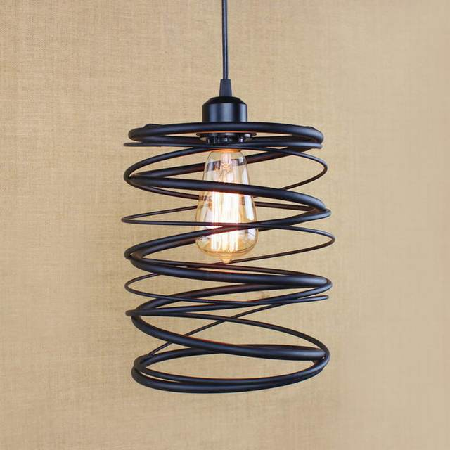 Free Shipping Indoor Restoration Hardware Lighting Loft Northern Europe  American Vintage Retro Pendant Lamp For Kitchen