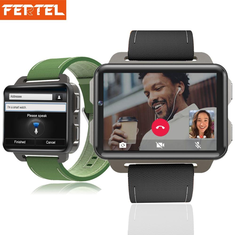 Новое Поступление Смарт-часы Android 5,1 2,2 дюйма 3g Smartwatch DM99 ужин большой Экран 1 ГБ + 16 ГБ gps Wi-Fi игры наручные часы PK LEM4 Pro