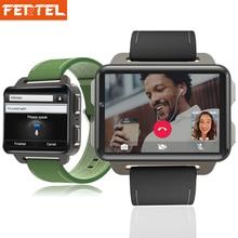 Nova Chegada g Smartwatch Relógio Inteligente Android 5.1 2.2 polegada 3 DM99 Ceia Grande Tela 1 gb + 16 gb GPS Wi-fi relógio De Pulso Jogo PK LEM4 Pro