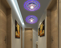 New Modern Crystal Saving Bright Ceiling Blue Light Durable Lamp Fixture Lighting Fashion Chandelier