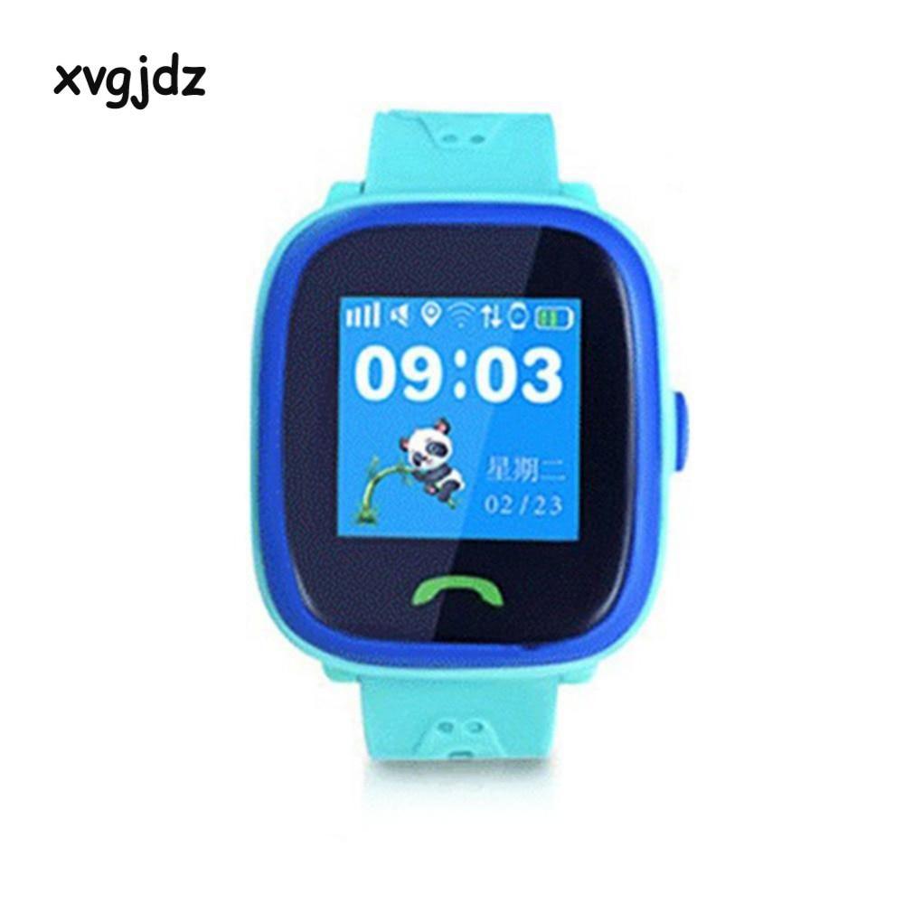 xvgjdz HW8 Bluetooth Children Watch Waterproof Touch Screen Smart Phone Child Watch GPS Positioning SOS Call Location Kid Safe