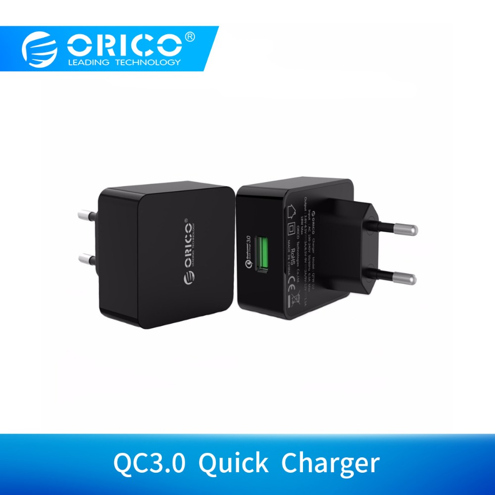ORICO QC3.0 USB Quick Charger Wall Charger with Micro USB Cable for Samsung Xiaomi Huawei electronics