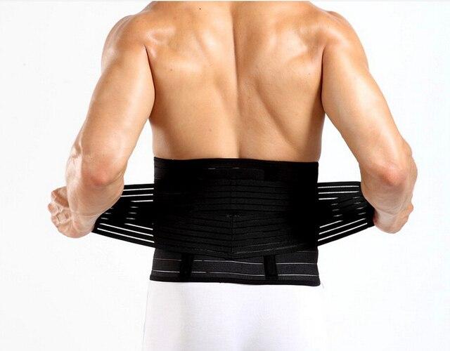 PRAYGER Men Touch Girdle Body Shaper Tummy Trimmer Slimming warp Abdomen Bone Support Back belly Compression Belt Waist Cinchers 2