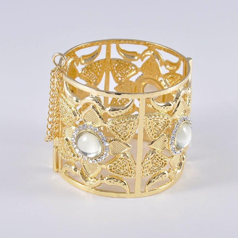 HTB1MAF8ONnaK1RjSZFBq6AW7VXaZ 6PCS Set Luxury Wedding Jewelry Set For Women Arabic Dubai Full Set Jewelry in Gold Big Size Costume Necklace Sets