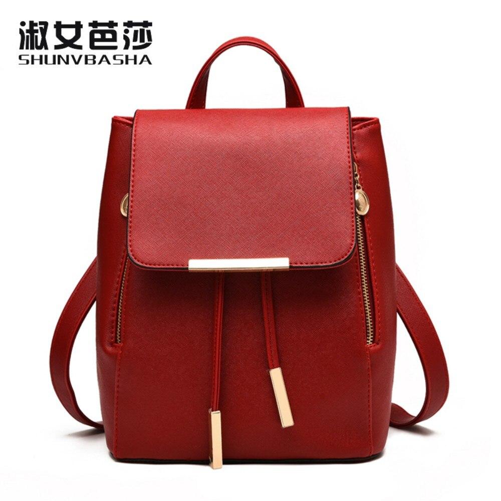 SNBS 100 Genuine leather font b Women b font font b backpack b font 2017 New