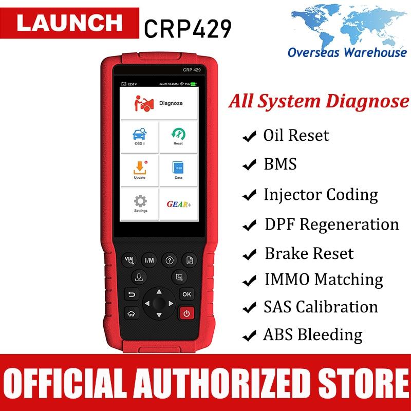 Запуск CRP429 автомобильный диагностический инструмент автоматический сканер все системы Диагностика сканирование автомобильный Автоскане...