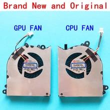 Refroidisseur de PC portable, ventilateur de refroidissement de processeur pour ordinateur portable pour MSI GS60 6QD 6QE 6QC 2QE 2PE, 2QD 2PL GPU E322500025A0, PAAD06015SL N294 N293