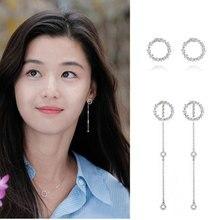 GODKI Brand New Fashion Popular Luxury Crystal Zircon Stud Earrings Earrings Fashion Jewelry for Women