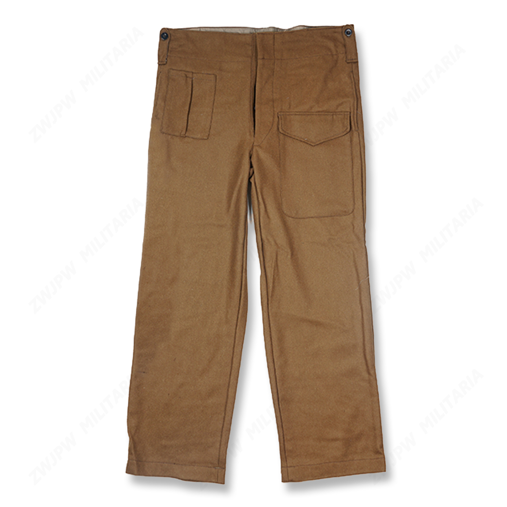 WW2 UK ARMY DENISON P37 PANTS   BRITISH WOOLEN OUTDOOR PANTS