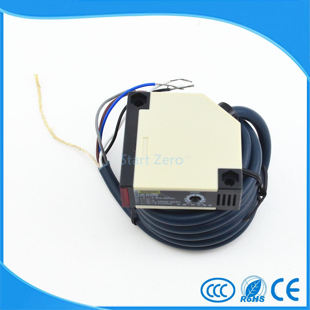 photoelectric switch,E3JK-DS30M2,30cm ,Diffuse reflection,infrared switch,photoelectric sensor  DC12-24  18*50*50 photoelectric switch e3jk ds30m1 30cm diffuse reflection infrared switch photoelectric sensor dc12 24 18 50 50