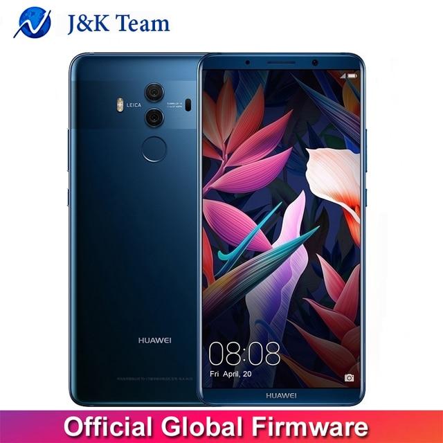 "Global Firmware Huawei Mate 10 Pro Smartphone Android 8.0 Dual Rear 20MP+12MP 4000mAh 6.0"" 2160*1080 Kirin970 Fingerprint NFC"