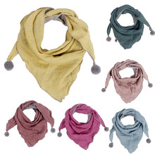 Детские аксессуары для мальчиков и девочек, детский шарф на шею с круглым вырезом, шарф-шаль, Женский кашемировый шарф лучшего качества, накидка-шаль