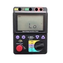 500~5000V Megohmmeter Digital High Voltage Insulation Resistance Tester Megger Smart Sensor AR3126 недорого