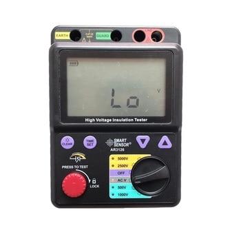 rk2681 5tohm 500v pointer megger insulation resistance tester 500~5000V / 0M~1000Gohm Megohmmeter Digital High Voltage Insulation Resistance Tester Megger Smart Sensor AR3126