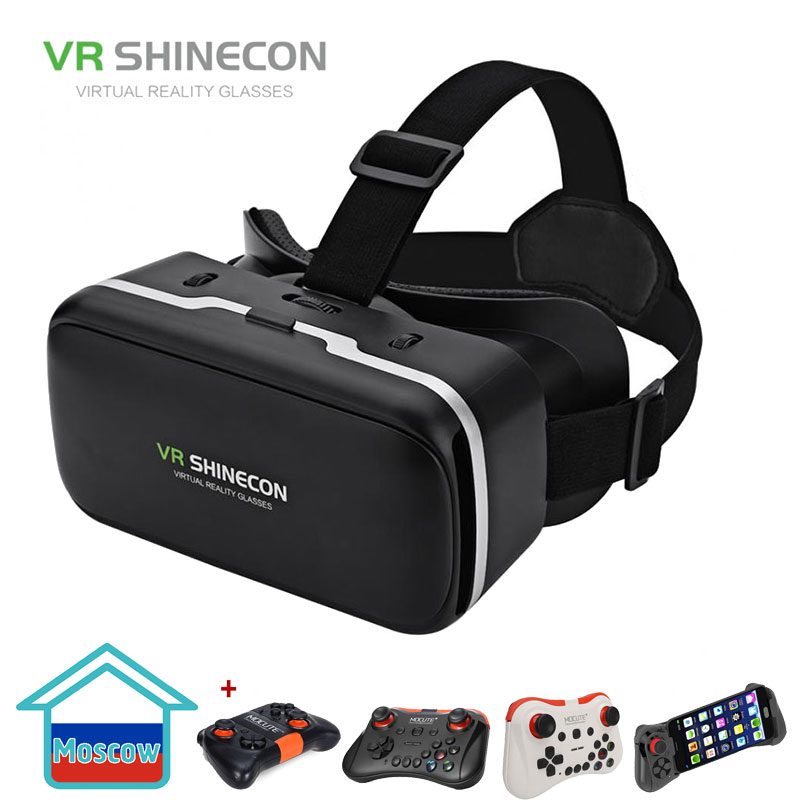 VR SHINECON G04 Virtual Reality Headset 3D VR Glasses for 4.7-6.0 inches Android iOS Smart PhonesVR SHINECON G04 Virtual Reality Headset 3D VR Glasses for 4.7-6.0 inches Android iOS Smart Phones