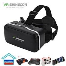 VR SHINECON G04 виртуальной реальности Гарнитура 3D vr-очки для 4,7-6,0 cm Android iOS смартфонов