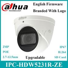 Dahua IPC HDW5231R ZE 2MP WDR камера для глазного яблока со встроенным микрофоном Starlight IR50m, замена IPC HDW5231R Z с логотипом Dahua