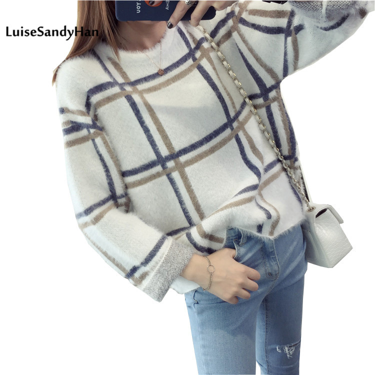 2019 Winter Women's Blouse New Fashion Autumn Women Sweater Plus Size Women Slim Pullover Sweater Women Long-sleeve Sweater