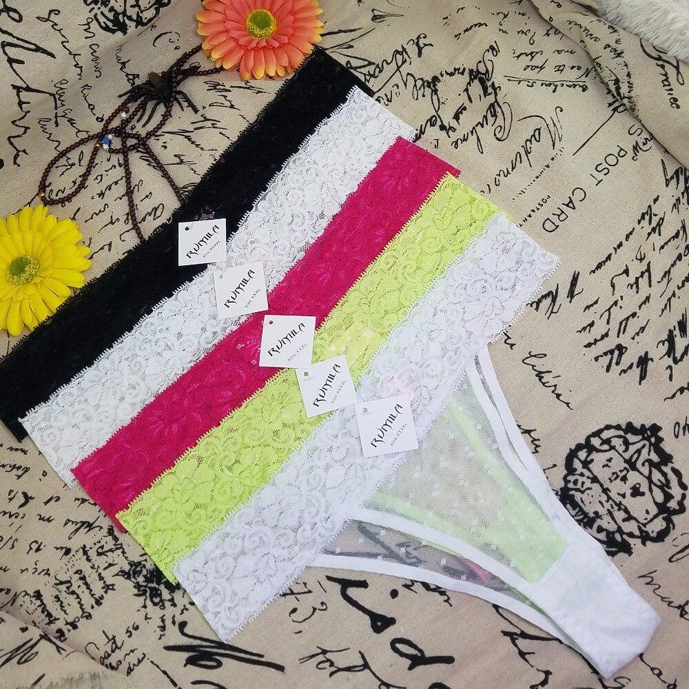Big size XL-5XL Women lace G-Strings shorts Briefs sexy underwear ladies   panties   lingerie pants thong intimate wear 1pcs 1706hsq