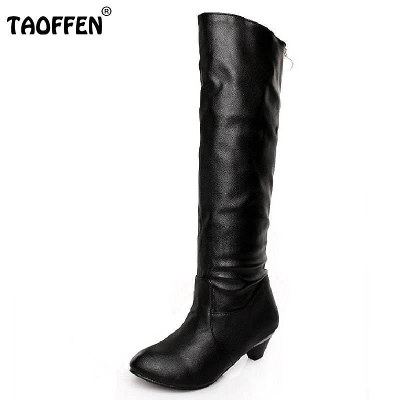 Free shipping knee boots women fashion long boot winter footwear high heel shoes sexy snow warm P7899 EUR size 34-45 free shipping candy color women garden shoes breathable women beach shoes hsa21