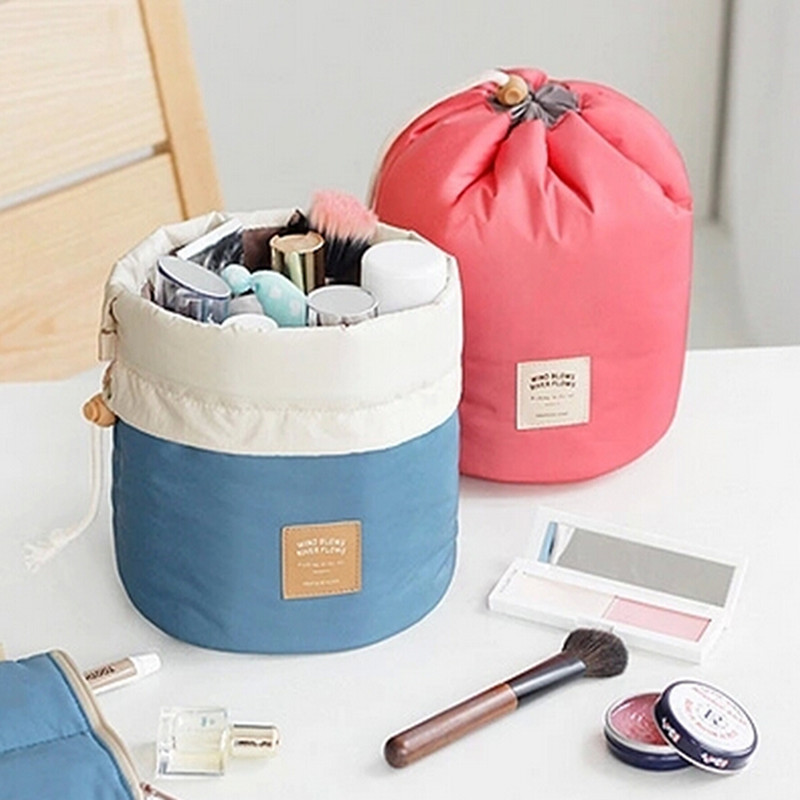 2017 Ketibaan Baru kalis air wanita Portable Travel Kosmetik Mengasingkan Penganjur Beg Kosmetik solek Kebersihan Bekas Penyimpanan kes