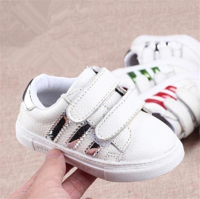 Soft Rubber Sole Genuine Leather Baby Shoes Sneaker Hook Loop Winter Newborn Boys Girls Casual Canvas toddler Walker Infant Enfa