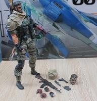 METAL GEAR SOLID Action Figure Playarts Kai SOLID SNAKE Model Toy Play Arts Kai Snake Figure