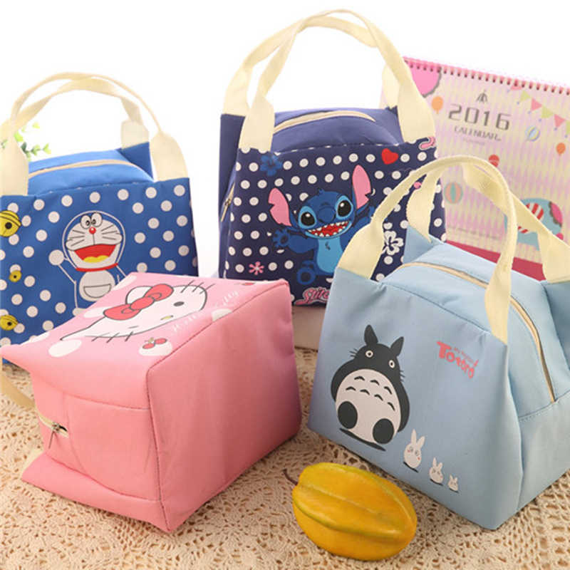 Children Totoro Lunch Bag Aluminum Foil Hello Kitty Lunch Bag for Food  Doraemon Thermal and Cooler ecadcd3c5d9b7