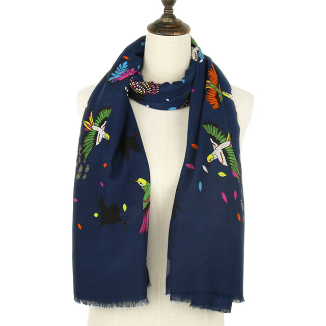 Fashion Fly Birds Scarf | Lightweight Scarves