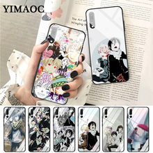 YIMAOC Noragami yato Anime Pattern Glass Case for Huawei P10 lite P20 Pro P30 P Smart honor 7A 8X 9 10 Y6 Mate 20