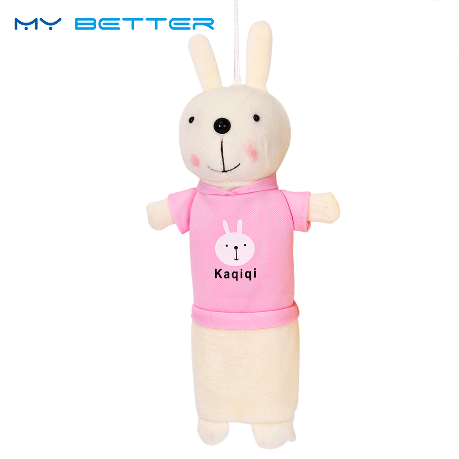 Lovely Plush Rabbit Coin Purse Little Key Pouch Money Bag Cute Animals Girl Purse Holder Coin Holder Wallet for Kids Gifts ladies cheapest canvas classic coin purse little key car pouch money bag girl s mini short coin holder wallet lxx9