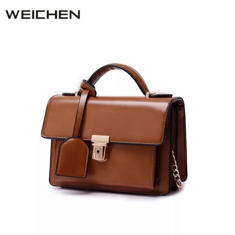 Brown Vintage Women Handbags PU Leather Small Womens Handbags High Quality Solid Crossbody Bags Female Zipper Flap Bag 6 Color