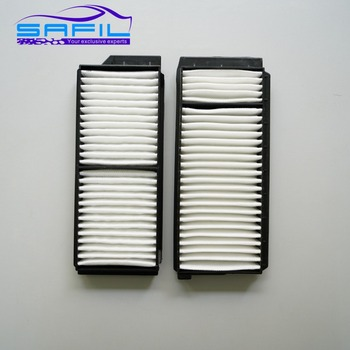 Pair Cabin Air Filter for Mazda 5 2006-2010 / Mazda 3 2004-2009 BP4K-61-J6X /CC64-61-J6X /WP9282 OEM:BP4K-61-J6X #LT58 image