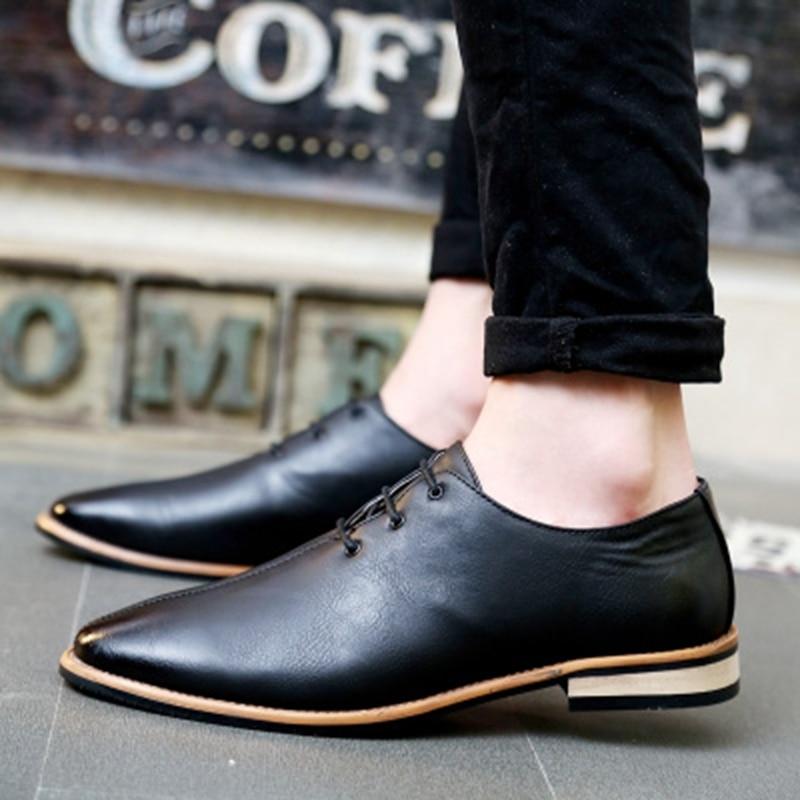 Fashion Brand Formal Men Shoes 2019