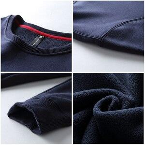 Image 5 - Pioneer Camp z polaru grube bluzy męskie zimowe ciepłe 100% bawełniane bluzy z kapturem męskie marki odzież na co dzień Plus rozmiar XXXL