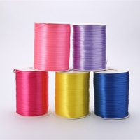 3mm 880Yards Pretty Silk Satin Ribbon 22M Wedding Party Decoration Invitation Card Gift Wrapping Scrapbooking Supplies