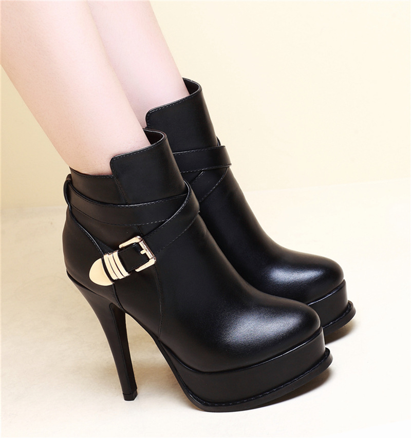Leather Dress Boots for Women Promotion-Shop for Promotional