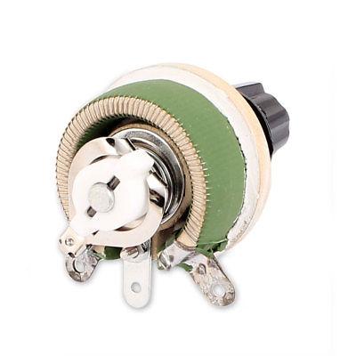 Wirewound Ceramic Potentiometer Adjustable Rheostat Resistor 25W 1R/2R/5R/10R/20R/30R/50R/100R/150R/200R/300R/500R/1KR/2KR