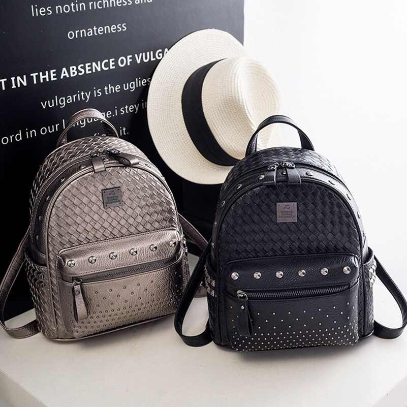 562d56a0bfe9 Брендовые модные женские туфли рюкзак дамы Дорожная сумка из искусственной  кожи рюкзак Для женщин Повседневное сумки