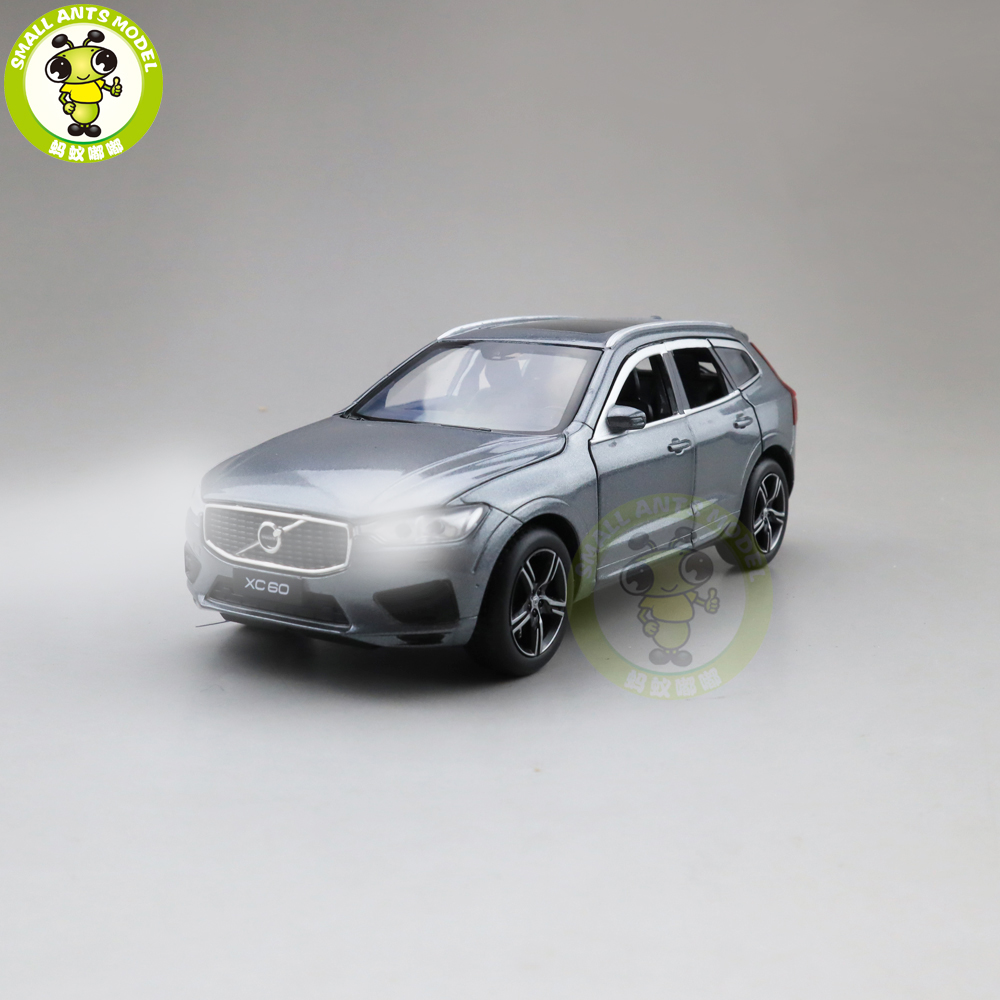 1/32 JACKIEKIM ALL NEW Volvo XC60 Diecast Model CAR SUV Toys For Kids Boy Girl Gifts Sound Lighting Pull Back