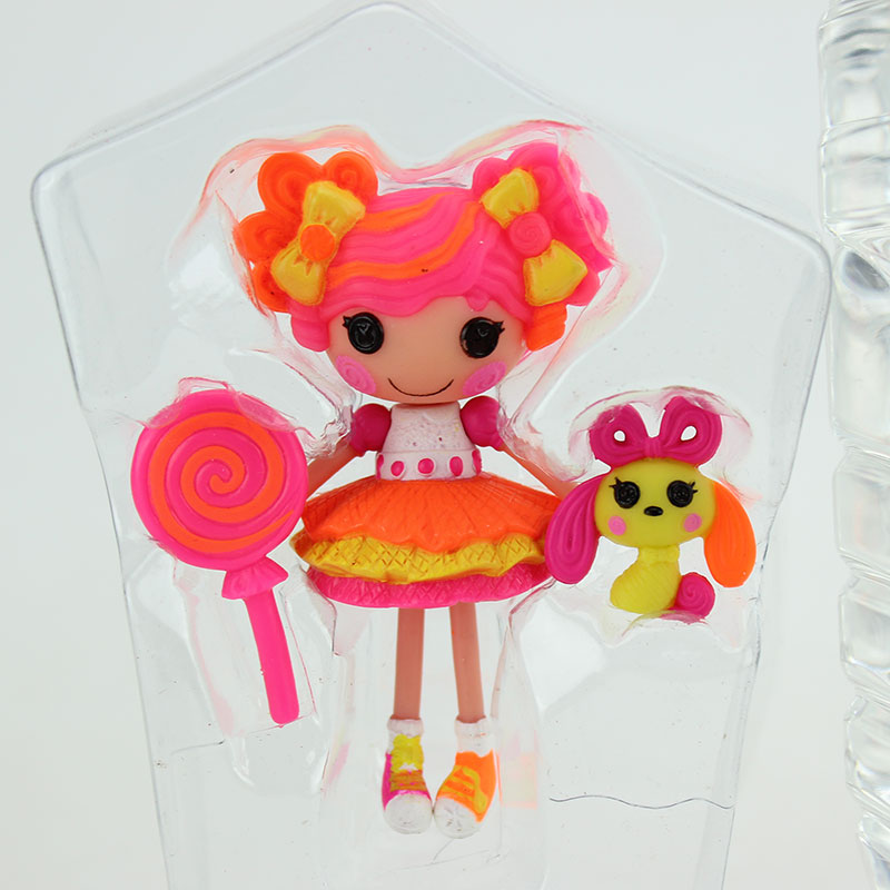Fashion 3Inch Original MGA Lalaloopsy Dolls With Accessories Toy Play