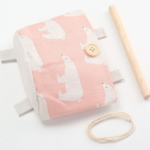 Image 5 - 2019 NEW Organizador Foldable Hang Wall Bathroom Makeup Organizer Storage Rear Hanging Cartoon Sorting Bag Household Items