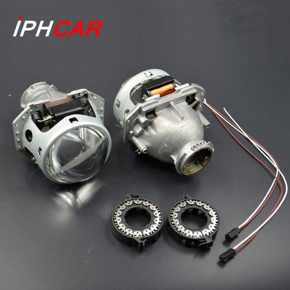 2 pcs 3.0 pouce hella 5 voiture Bi xénon hid objectif Du Projecteur support métallique D1S D2S D3S D4S hid xenon kit phare de voiture phare