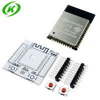 ESP32 ESP-WROOM-32 IoT Wifi Wlan BLE módulo + ESP-32S placa adaptadora