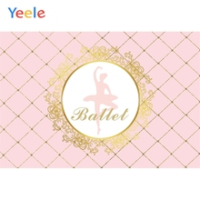 Yeele Baby Shower Ballet Performance Party Customized Photography Backdrop Personalized Photographic Background For Photo Studio