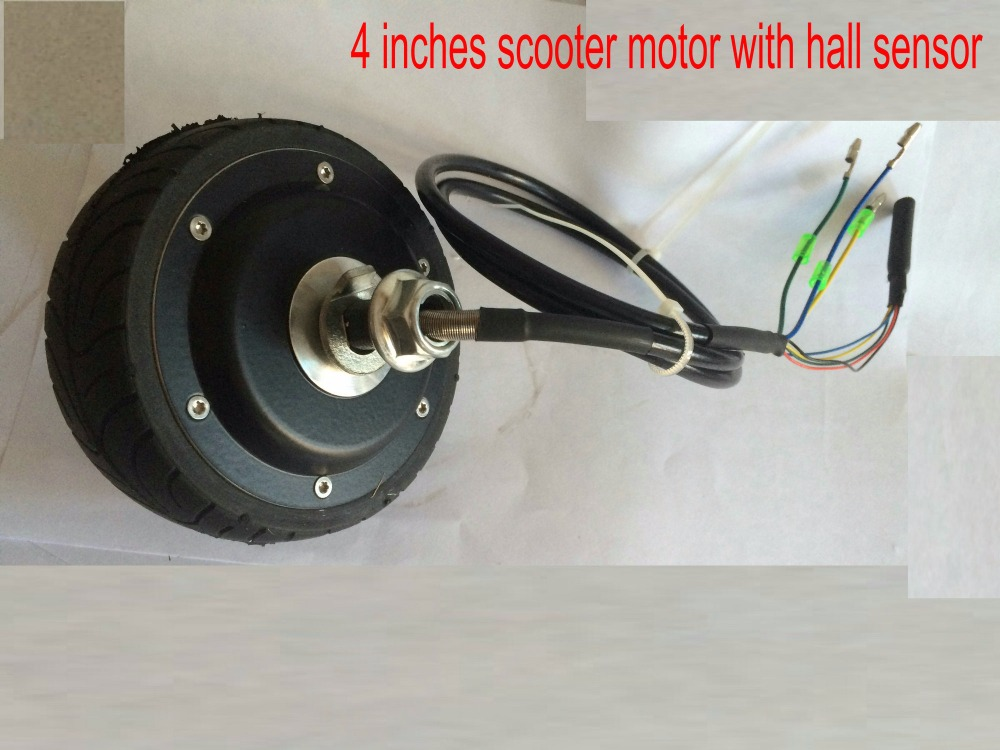 4inches Bldc Hub Motor With Tyre Hall Sensor And Eabs
