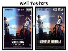 Sleepless in Seattle Movie Home Decorative Painting White Kraft Paper Poster 42X30cm
